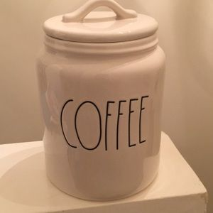 Rae Dunn COFFEE Canister - Sealed